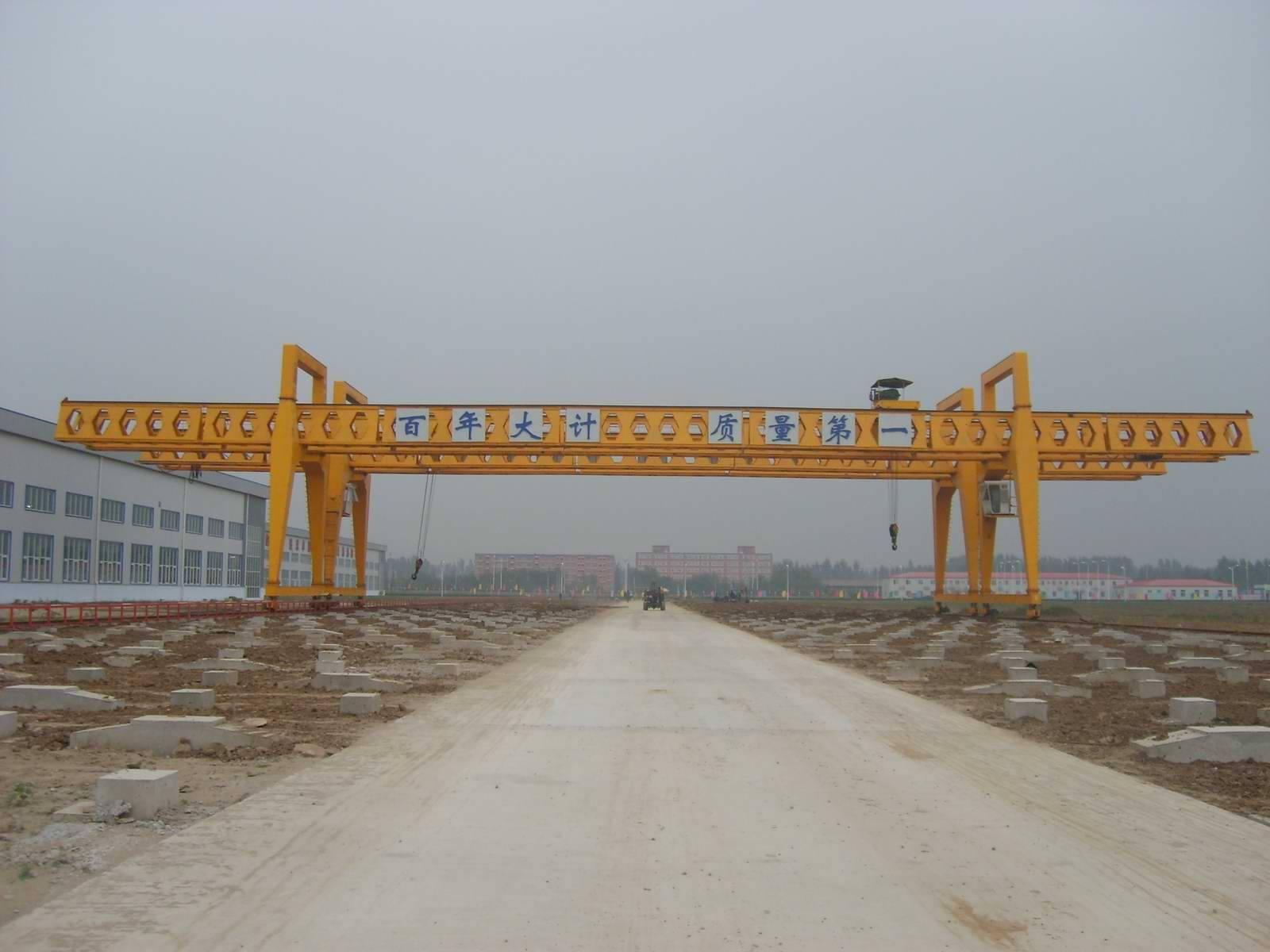 gantry crane50t to handle materials