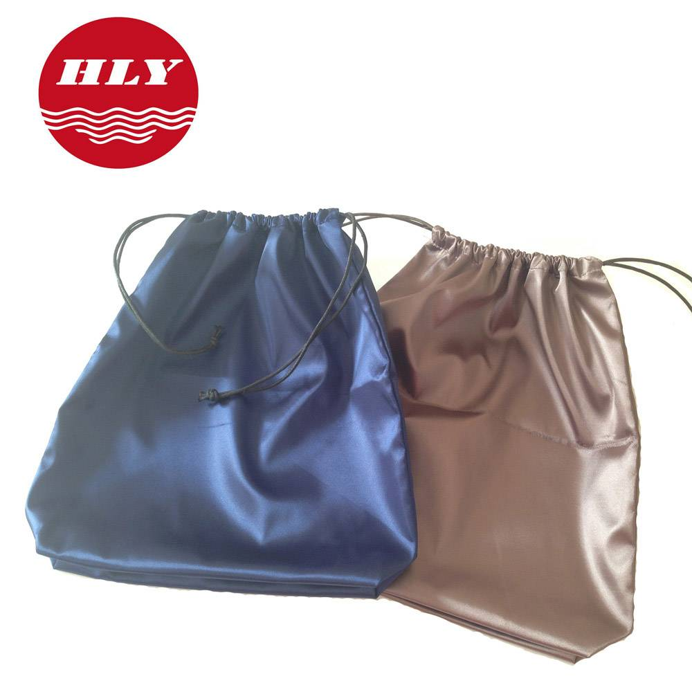 New Design Soft Silk Drawstring Gift Shopping bag