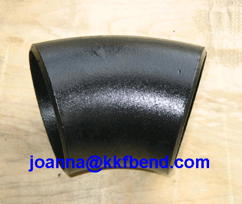 carobn steel 45 Degree LR Elbow