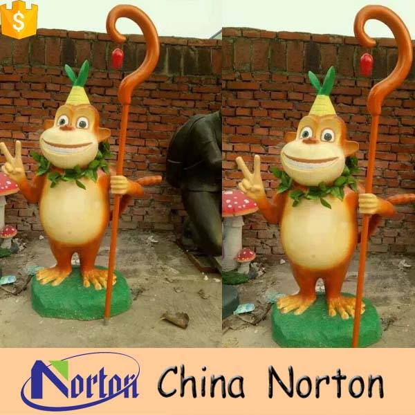 Handmade resin cartoon statues for sale NTRS-001Y