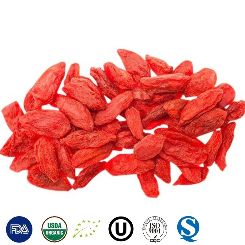 2017New CROP Dried Goji berry with competitive price from manufacturer