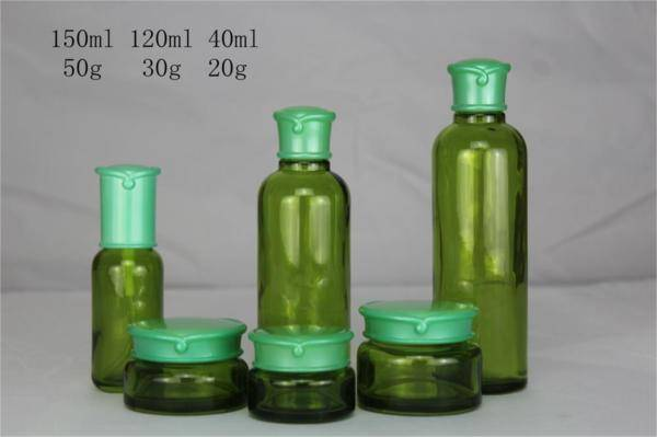 selling cosmetic bottles and jars for cosmetic packaing made in china
