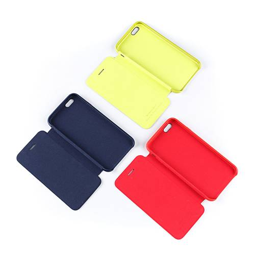 Stylish candy colors PU leather cellphone case for Iphone for Samsung