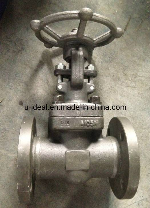 ASTM Forged Steel Flanged Gate Valve
