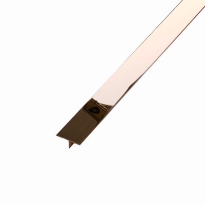 Stainless Steel Tile Trim Conner Edge Metal Profile Floor Strip