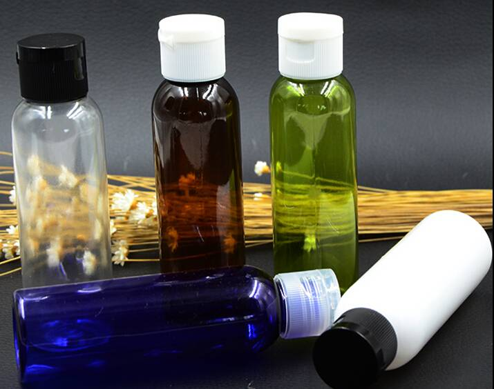 60ml PET lotion bottle with flip cap