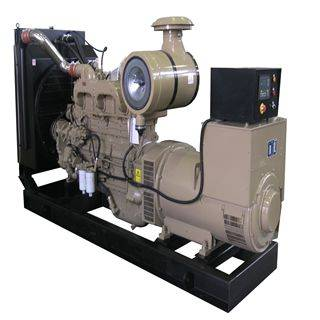 Cummins 60HZ 400V 300kw China Diesel Generator Set Silent/Open Type ISO Certificated Generator