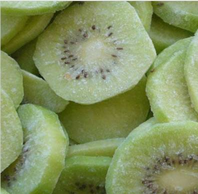 frozen iqf sliced kiwi