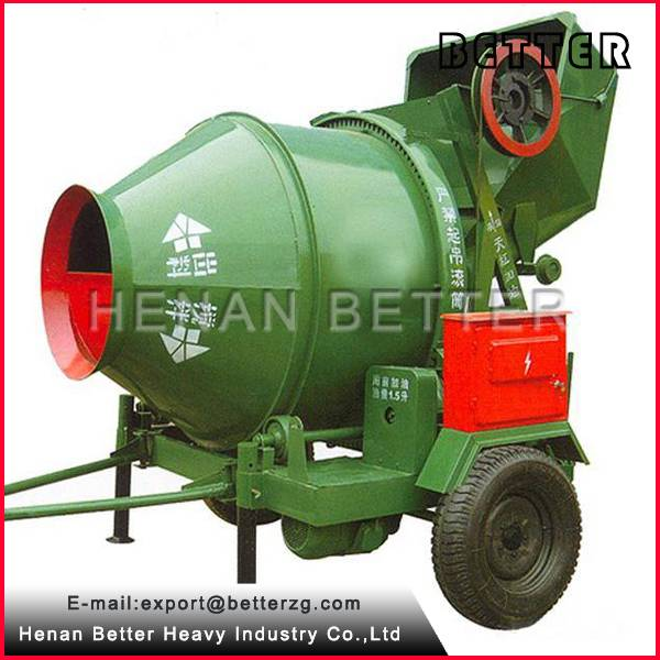 JZC500 Concrete mixer with Hydraulic type diesel engine in stock