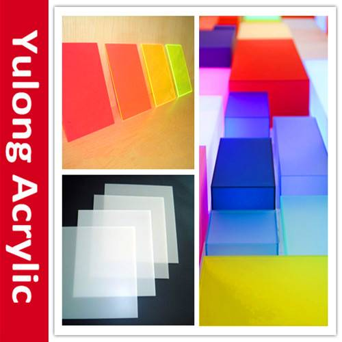 2-20mm cast acrylic sheet