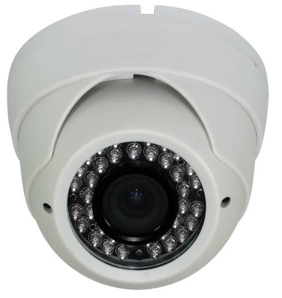 High Quality 1.3 megapixel 1000TVL Sony CMOS IMX138+FH8520/720P Dome camera, 2.8~12mm, 36pcs IR LED