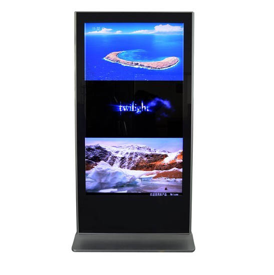 43-inch Floor Standing Outdoor LCD Advertising Display-Air Conditioner Cooling
