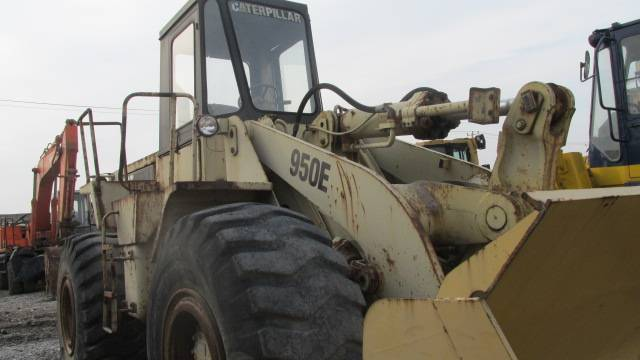 USED LOADER CAT 950E ORIGINAL FROM JAPAN