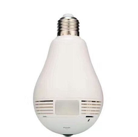 1.3 Megapixel panoramic bulb wifi camera