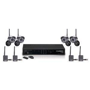 Lorex EDGE+ 4-Channel Video Security DVR with 4 Wireless Security Cameras
