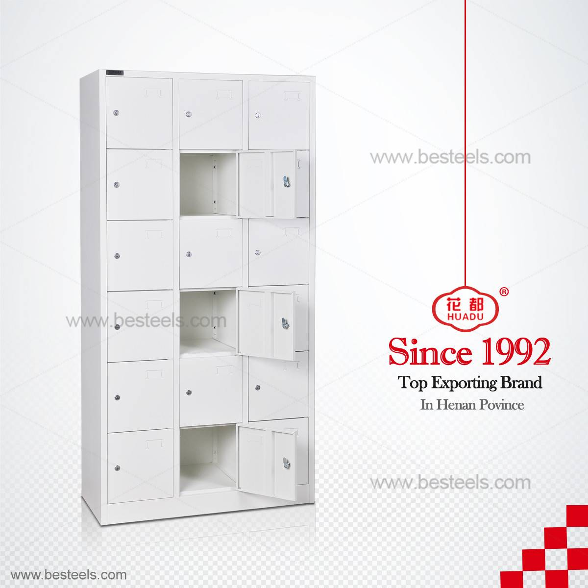 HDG-18 STEEL ALMIRAH/METAL LOCKER