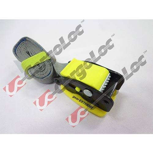 1m Cam Buckle with Paddle, Yellow