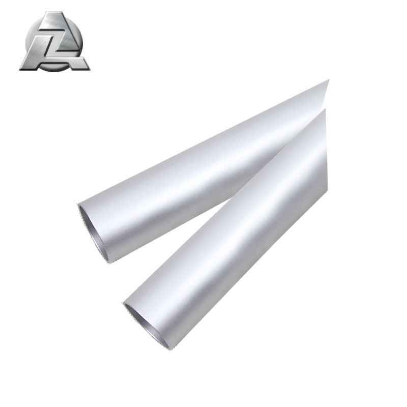 6000 series silver anodized aluminum extruded tube profile