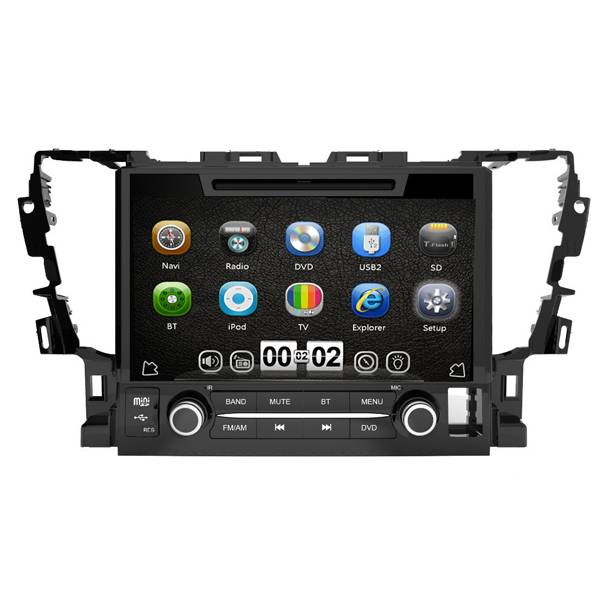 9 Inch Capacitive  Screen  Car DVD Multimedia for Alphard 2015