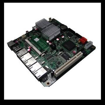 Mini ITX  Motherboard with 5 LAN ports (G945GSE-5LAN)
