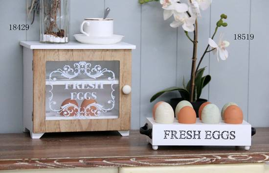 FU-18429  wood egg cabinet
