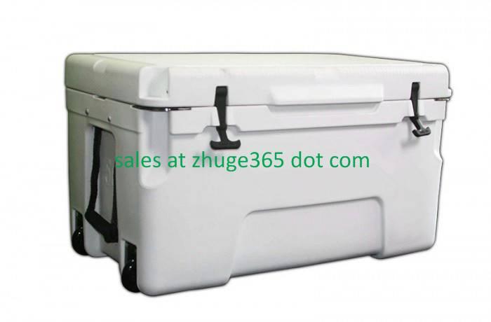Premium 50Liter Marine White Ice Chest | Cooler Box for Camping