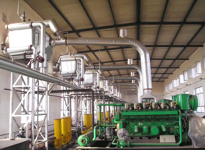 Exhaust Gas Boiler for Flue Gas Waste Heat Recovery Of Diesel/Natural Gas Generator Sets
