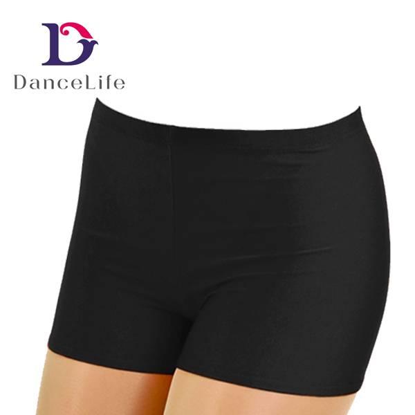 Straight waist dance short