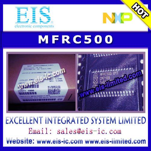 MFRC500 - NXP - Highly Integrated ISO 14443A Reader IC