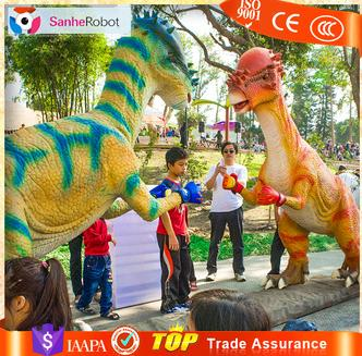 Providing video decorate electronics charming swollen head dragon for amusement park
