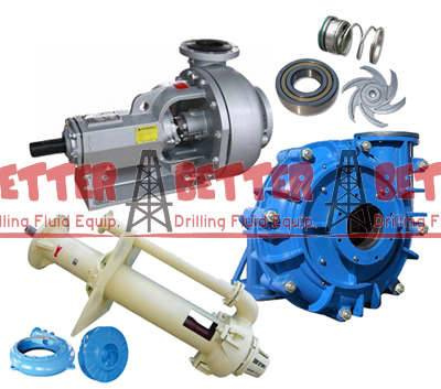 Heavy duty centrifugal pump and pump mission equiv