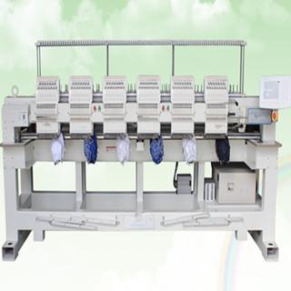 6 heads cap embroidery machine