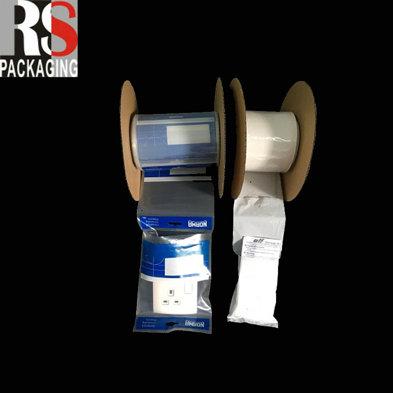 White Back Poly Bags On A Roll /Garbage poly bags on roll
