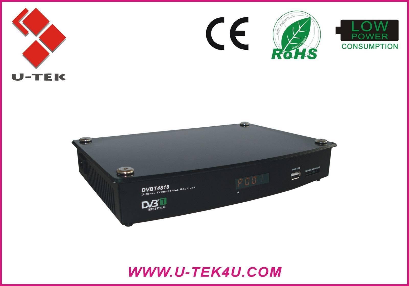 Special Offer, Two Scart Mpeg2 DVB-T Receiver, PVR, DVBT4818