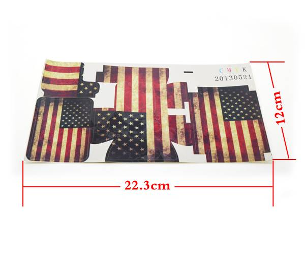GP49 GoPro American Flag case Sticker for GoPro Hero 3 housing
