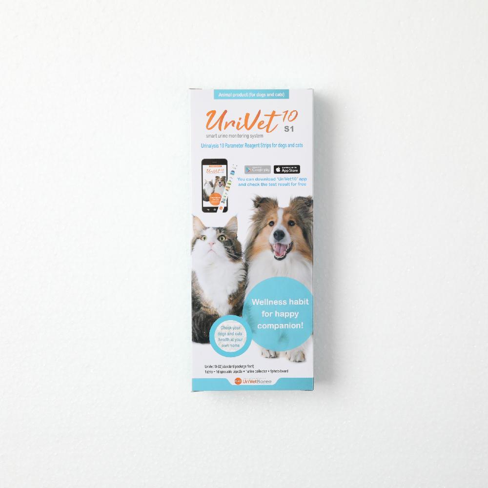 UriVet10, 10parameters Smart Urinalysis Test Kit for Dogs & Cats