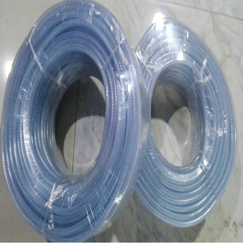 Multi Specifications High Strength Anti-UV Clear Braided PVC Hose/Tubing