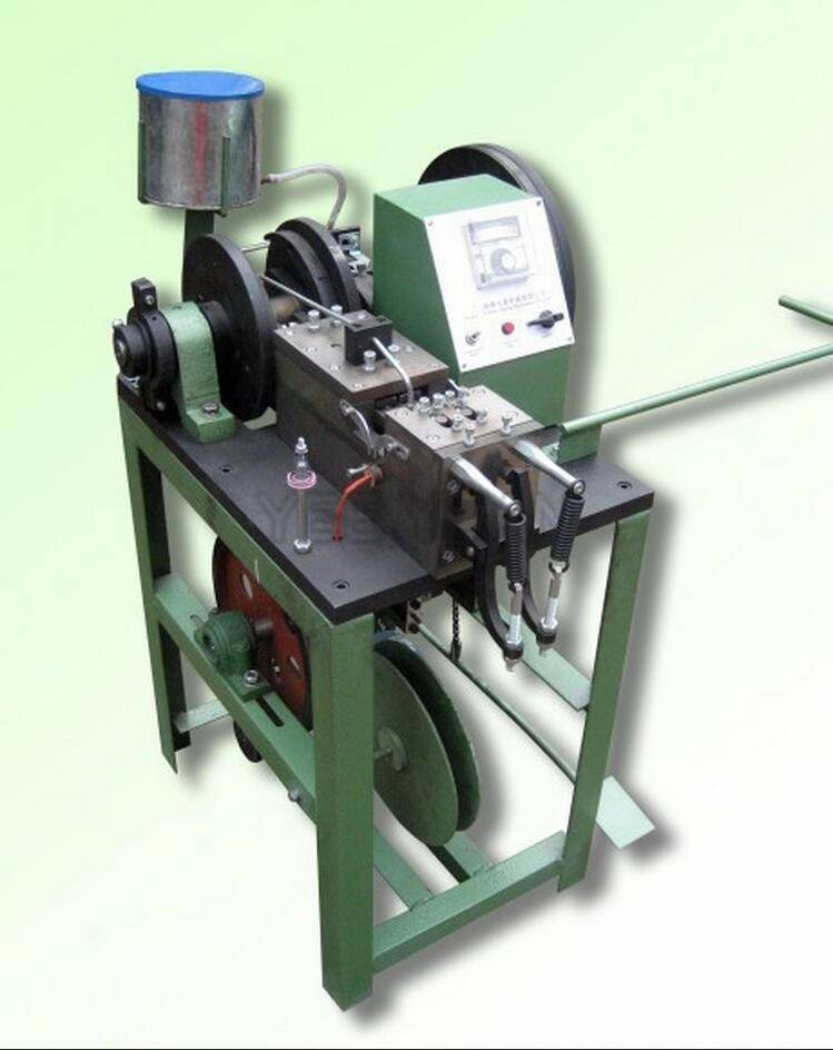 Semi-Automatic Shoelace/ Handbag lace Tipping Machine/Gift Bag Lace Heading Machine