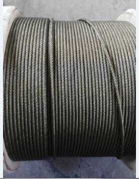 elevator steel rope 8x19S, 9x19, 8x25Fi,6x19