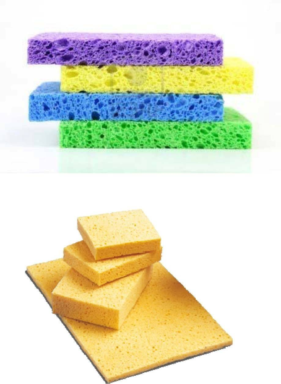 cellulose cleaning cloth