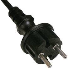 VDE power cord 2 pin
