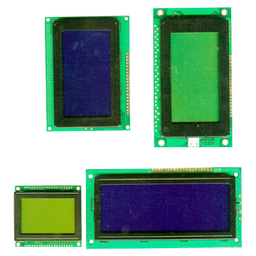 128 x 64 Graphic LCD Modules