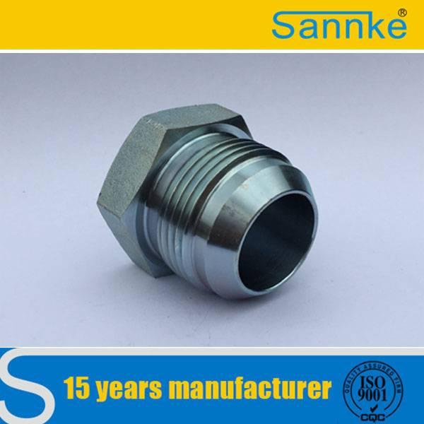 Iron Galvanize End Cap SS Hydraulic Fittings Plugs