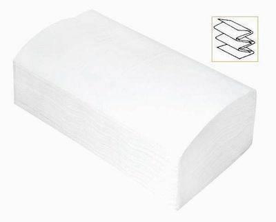 Towel paper white single fold/V fold/interleaved towel