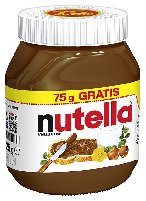 Ferrero Nutella 450g - 750g for export