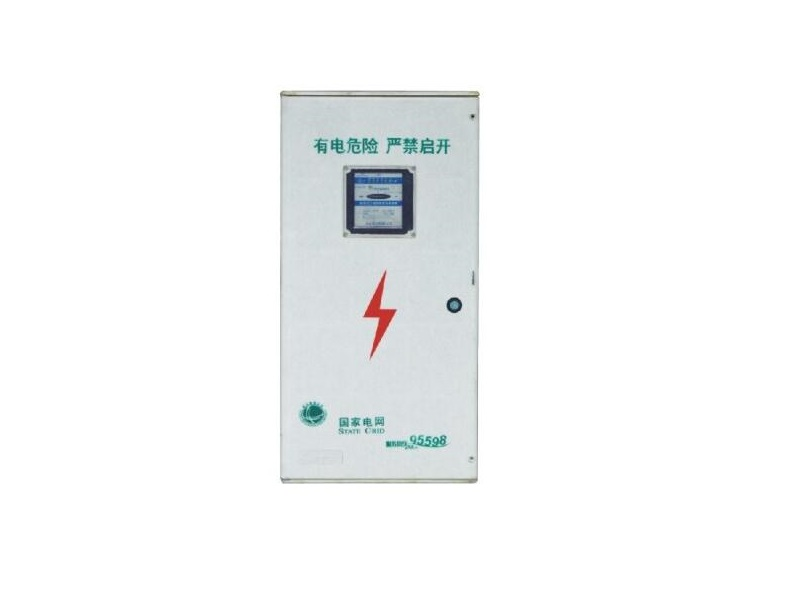 360x720x160mm fiberglass electric meter box with airswitches