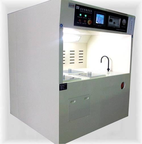 Etching cleaning machine
