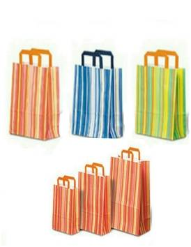 Color Stripes Gift Paper Bag