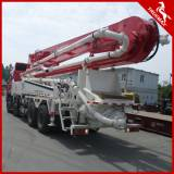 with 37m Boom Truck-Mounted Concrete Pump