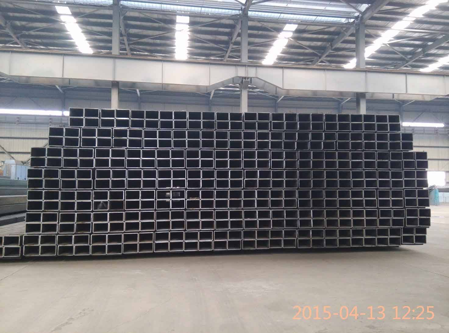 Astm a500 gr b carbon steel square steel pipe in China Dongpengboda